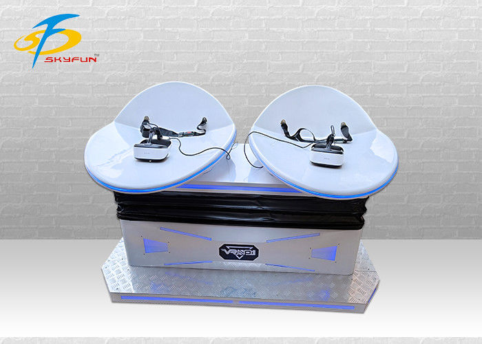 2 Player 360 Degree Swing 9D VR Cinema Fiberglasses + Steel Material