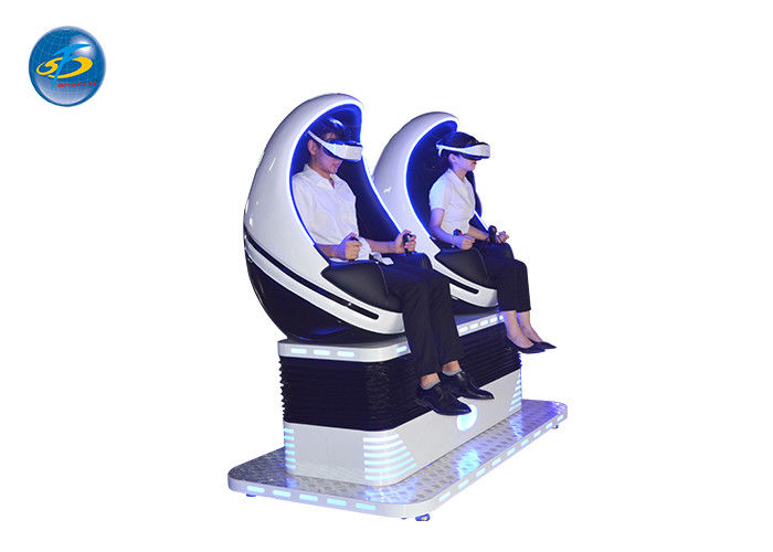 Hot Sale 2 Seats 9D Virtual Reality Egg Game Machine For Amusement Park