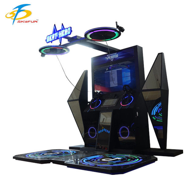 Rhythm Hero Music 9D VR Simulator For Shopping Mall , Amusement Park