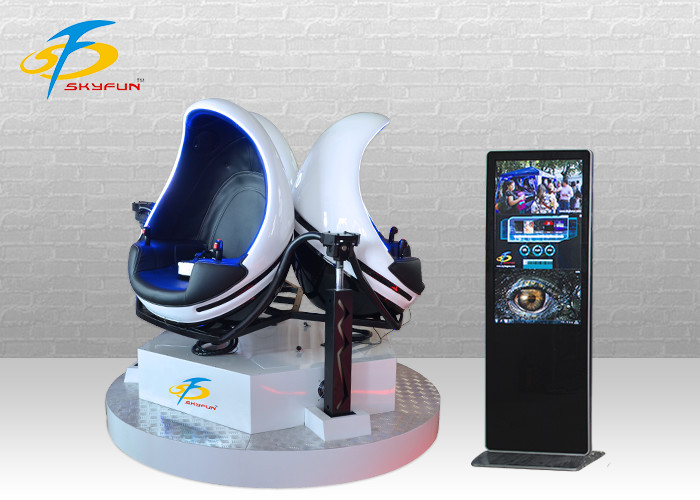One / Two / Three Seats VR Egg Chair + 9D VR Cinema Machine 360 Degree Rotation